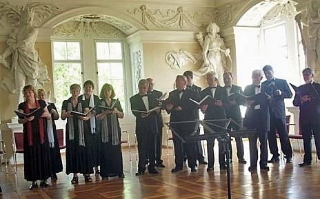Chorkonzert im Riesensaal, Schloss Sondershausen